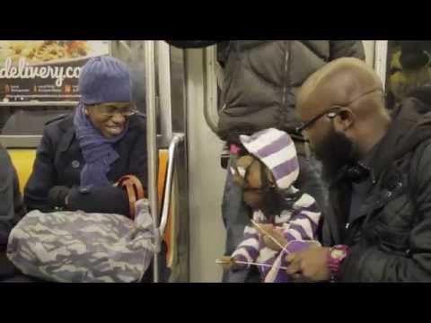 Watch this ★★amazing★★ talking puppet (subway ventriloquist)