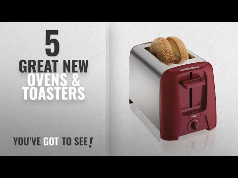 , Hamilton Beach Cool Wall 2-Slice Toaster, Red (22623)