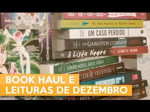 BOOK HAUL E LEITURAS DE DEZEMBRO | Admirável Leitor