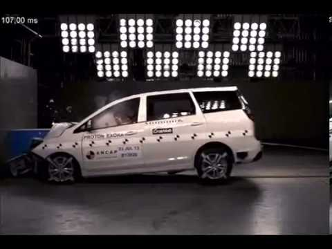 Proton Exora ANCAP Crash Test