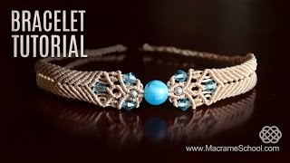 Big Bead Boho Bracelet Tutorial By Macrame School