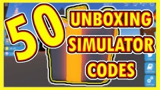 All new codes for roblox unboxing simulator matrix land