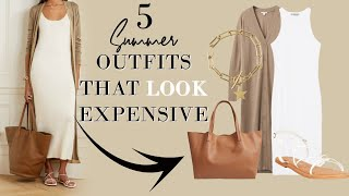 5  SUMMER Outfits That Look EXPENSIVE On A BUDGET | Classy Fashion Over 40