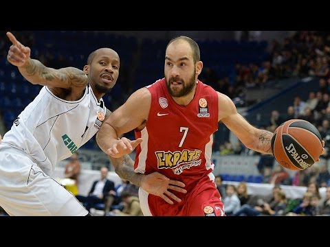 Highlights: Nizhny Novgorod-Olympiacos Piraeus