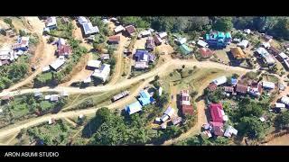Kilomi Village    Zunheboto    Nagaland    North East    Aerial View    DJI Phantom 4    2021