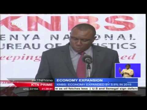 Kenya's economy grows marginally by 5.6 % in 2015 compared to 5.3 % growth in 2014