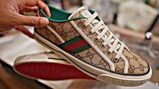 Mens GG Gucci Tennis 1977 Sneaker