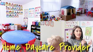 Day In The Life Of An In Home Child Care Provider