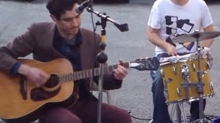Ukulele, Guitars, Keyboard & Drum Performance By The Spinto Band: The Living Things @ New Jersey