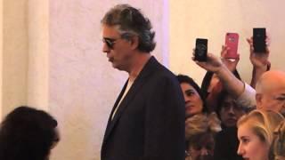 Misa Navidad 2013 Silent Night Andrea Bocelli