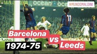 Cruyff, Rexach, Neeskens O Lorimer. Barcelona Vs Leeds 1975 Semifinal Copa De Europa