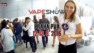 Vape Show Prague 2016 - Mike Godwin a Vape Triky CZ/SK
