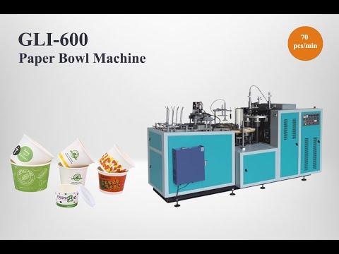 GLI-600 Paper Bowl Making Machine