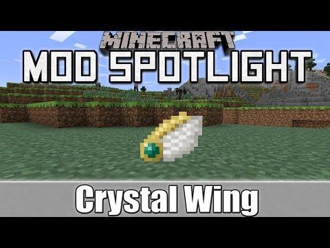 Minecraft Mod Spotlight: Crystal Wing (1.7.10/1.7.2/1.6.4)