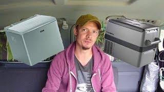 Welchen Kühlschrank für den Camper Van?! Vor, und Nachteile