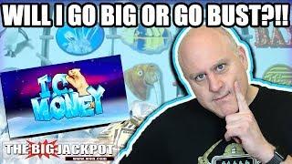 NEVER SEEN 💰I.C. Money Slots! 💰Go BIG or Go BUST | The Big Jackpot