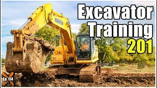 How to Operate an Excavator - Advanced // Heavy Equipment Operator