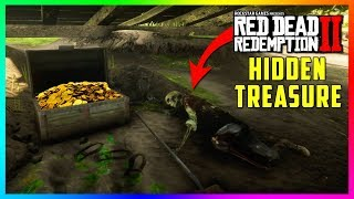 There Is A SECRET Pirate Treasure Hidden In Red Dead Redemption 2 & It's Filled With Gold To Take!