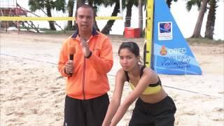 OBEC Young Beach Volleyball 2016 Inspired by Thai PBS - sport tips : คลิปรวบรวมเทคนิคการเล่นกีฬาวอลเลย์บอลชายหาด จากทีมนักกีฬาจากโรงเรียนทุ่งสง ตัวแทนจากสนามชิงแชมป์ภาคใต้