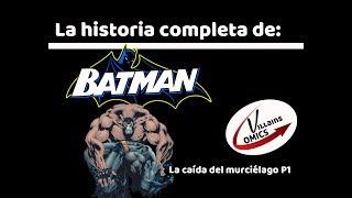 Batman La caída del murciélago