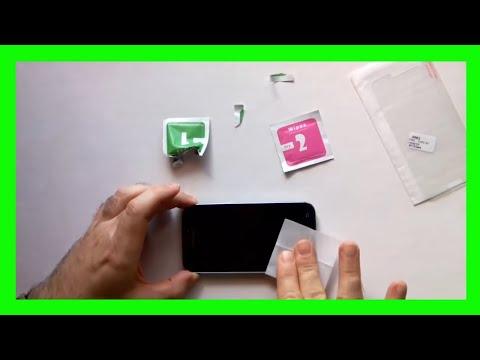 Cómo colocar un protector de pantalla de cristal templado al móvil