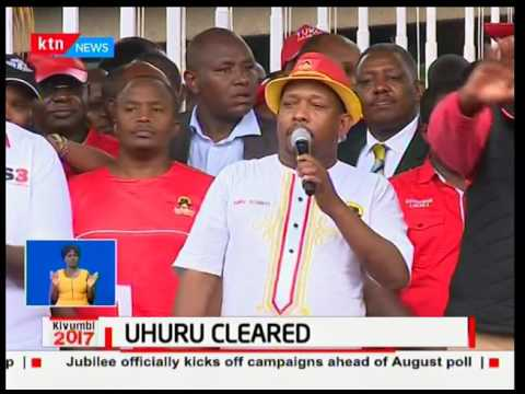Monday Night News Full Bulletin: IEBC clears President Uhuru Kenyatta - 29th May,2017