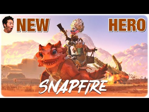 Dota 2 New Hero SNAPFIRE Trailer - Coming Fall 2019 | Introduced on The International