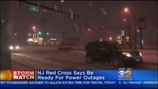 Snow Slams Neptune, NJ
