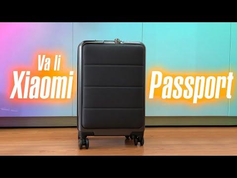 Vali Xiaomi Passport: 2tr, ngăn laptop, đem được lên máy bay