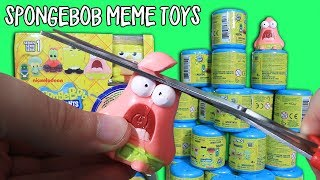 30 Spongebob Meme Toy Capsules - (Yes, actual meme toys)