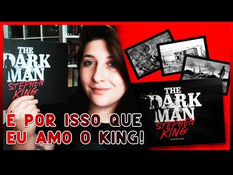THE DARK MAN - O Poema Ilustrado de Stephen King sobre a Escuridão!