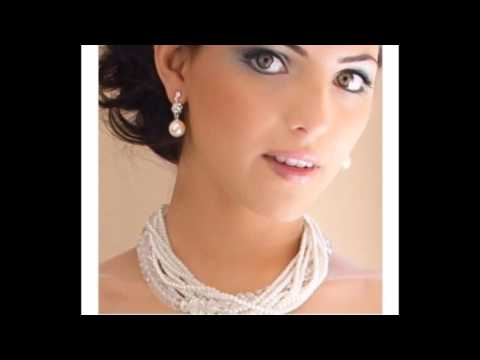 Bridal Jewelry: Ellie Colored Pearl Earrings