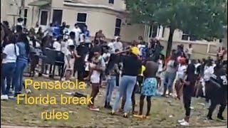 Pensacola Florida Break Coronavirus Rules Easter Block Party