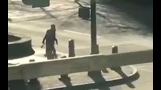 New York truck attack suspect seen running away from vehicle used in attack