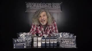 Silverback Tattoo Ink® Range Overview | Vegan-Friendly Black, White & Grey Tattoo Ink