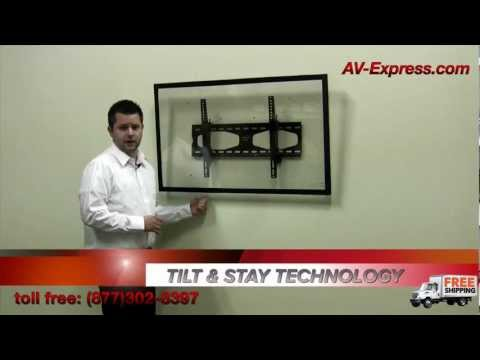 Tilting TV Wall Mount with Tilt n Stay Technology 32-60