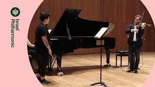 Masterclass with Renand Capucon: Galina Korinets - Brahms - Violin Concerto in D major