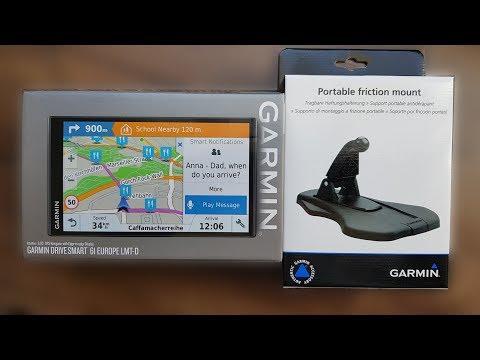 Garmin Drive Smart 61 Europe LMT-D und Tragbare Hafthalterung