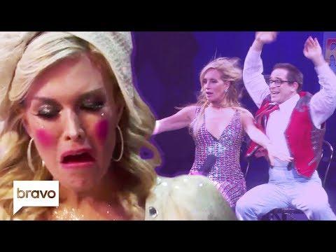 Tinsley Mortimer & Sonja Morgan Join The Circus | RHONY Highlights (S11 Ep9)