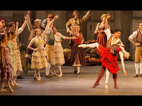 Don Quixote – Act I finale (Marianela Nuñez and Carlos Acosta, The Royal Ballet)