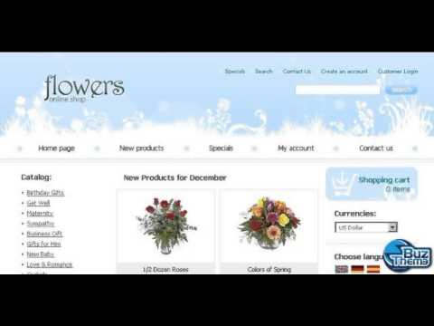 Download Flower Shop OsCommerce Template by  Matrix TM