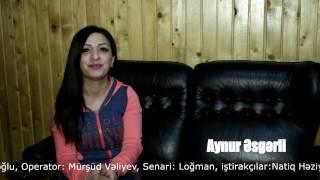 Aynur Esgerli -klip cekilisine hazirliq