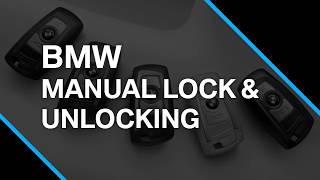 How To Manually Lock & Unlock A BMW