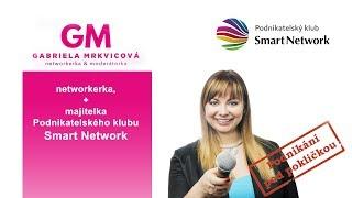 Gabriela dělá rozhovory pro Podnikání pod pokličkou