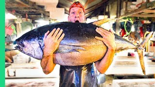 Filipino Seafood Tour! The Real King of Tuna in Mindanao!