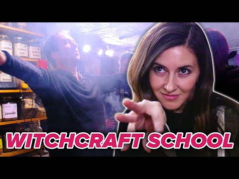 We Channeled Our Inner Harry Potter At Witch School • Ultimate Bucket List