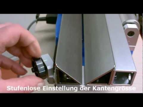 Entgratmaschine Speedy Prisma mit Schiebeschlitten