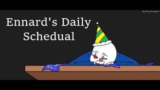 Ennard's Daily Schedual (FNAF SL Comic)
