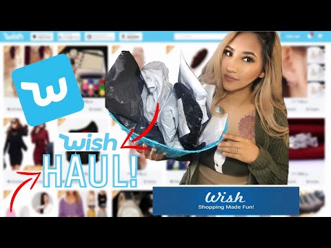 WISH HUAL | wish cheap shopping app review