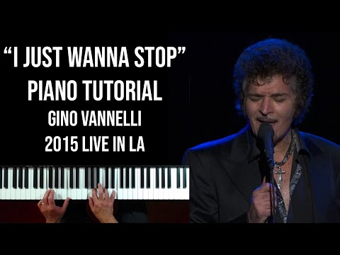 I Just Wanna Stop (Gino Vannelli)  - Piano Tutorial